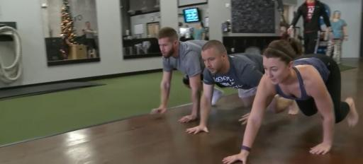 There are always new exercise trends designed to get you up on your feet and moving but a new trend out of Fuquay-Varina gets you down on your hands and knees, crawling like a baby.